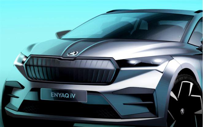 Škoda ukázala novú skicu svojho prvého SUV elektromobilu
