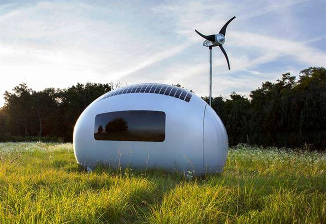 Energeticky nezávislý domček Ecocapsule ide do výroby. Navrhli ho slovenskí architekti