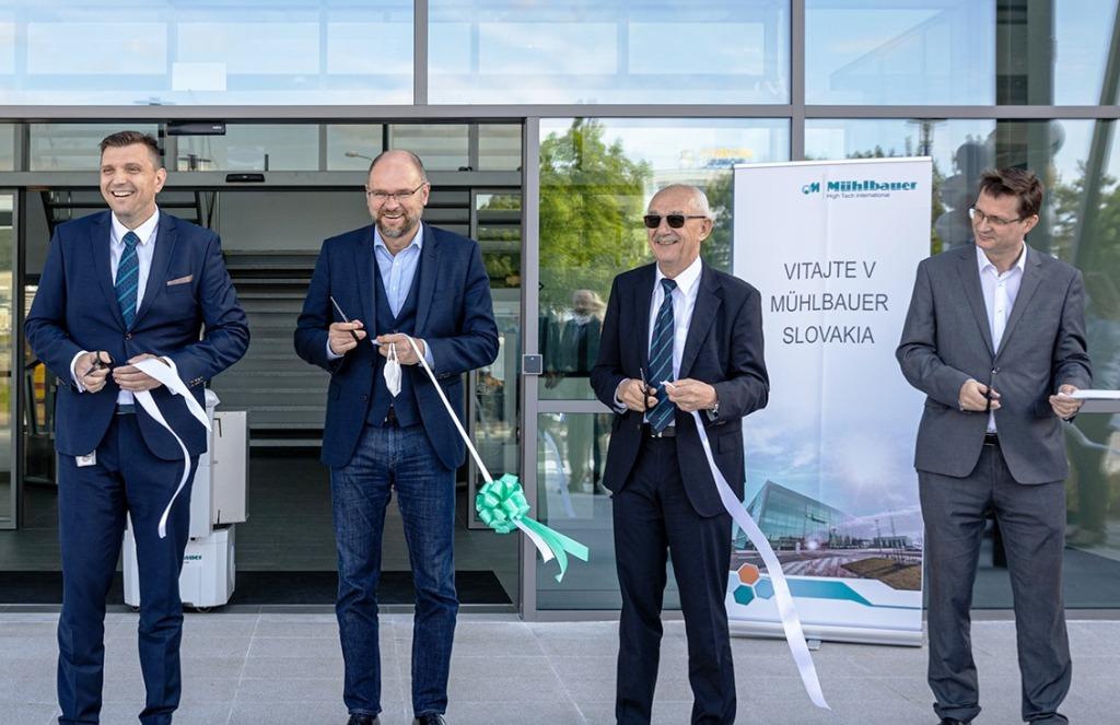 Spoločnosť Muehlbauer rozšírila svoj závod v Nitre