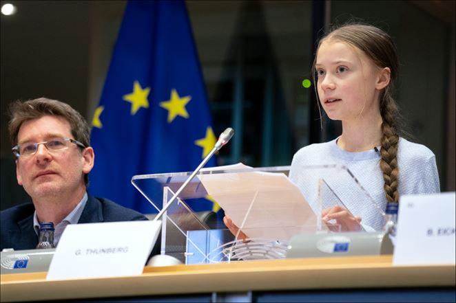 Čo povedala Greta Thunberg v Európskom parlamente