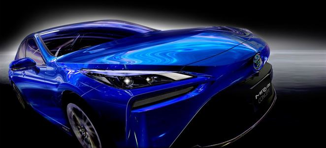 Toyota predstavila nové auto s vodíkovým pohonom