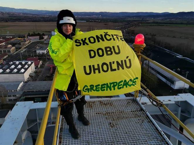 Greenpeace, Nováky, ťažba uhlia