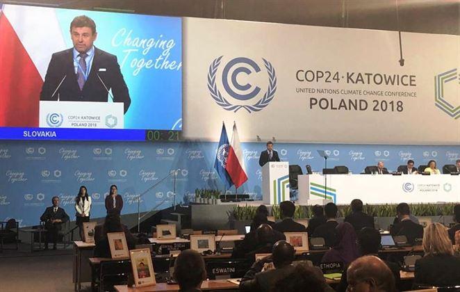Sólymos v Katoviciach: Ciele Parížskej dohody nedosiahneme bez kompromisov