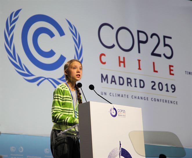 Greta Thunberg vystúpila v Madride. Svetových lídrov obvinila zo zavádzania verejnosti