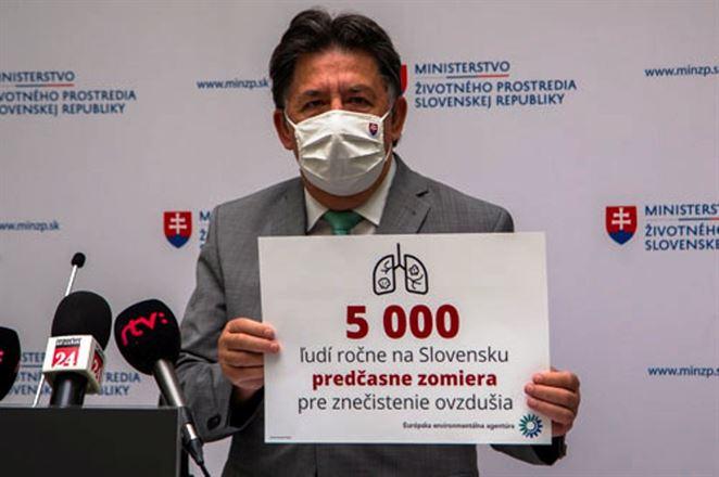 Budaj: Znečisťovateľov ovzdušia musíme dostať pod kontrolu