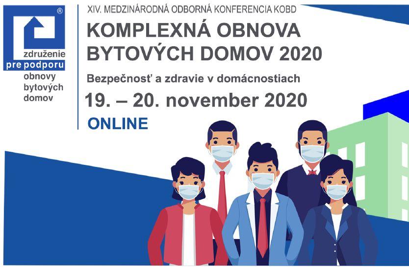Pozvánka na online konferenciu: Komplexná obnova bytových domov 2020