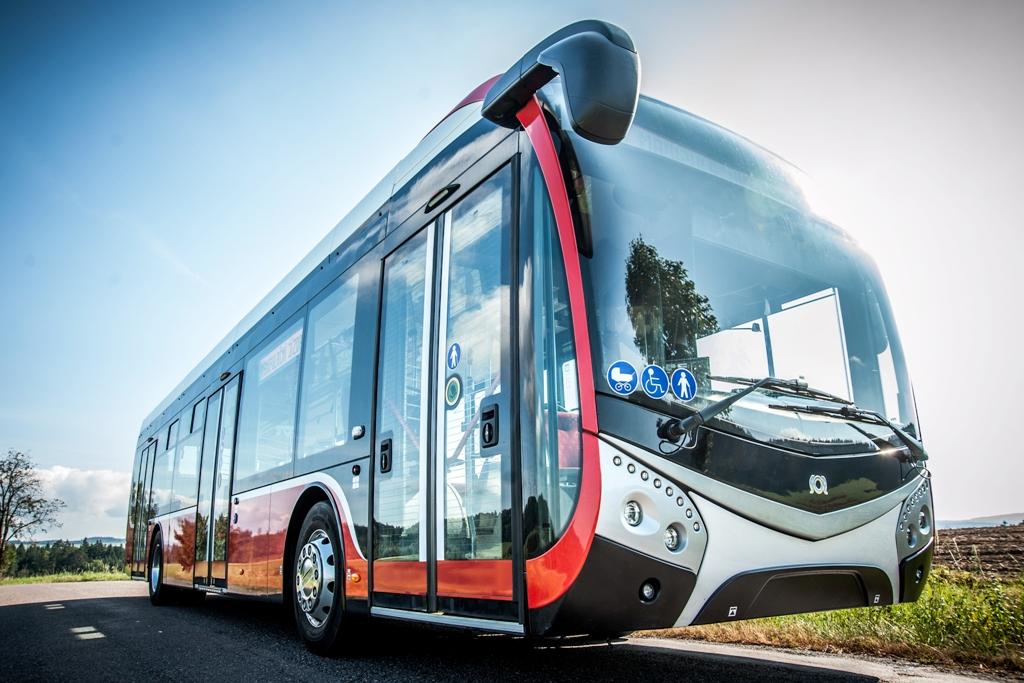 elektrický autobus