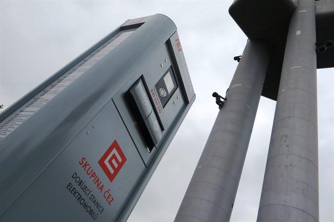 Rýchlonabíjačky pre elektromobily zvýšili objem dobíjania o 122 %, hlási ČEZ