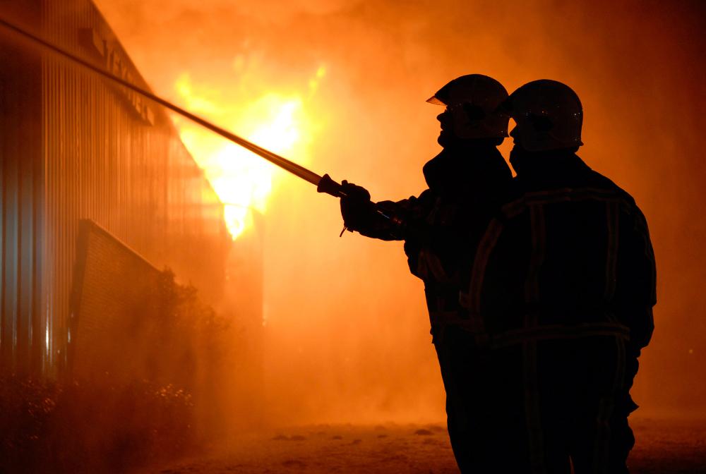 Explózia v teplárni. Uhoľný prach sa vznietil a spôsobil výbuch s požiarom