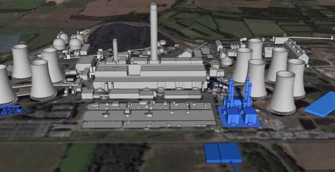 Najväčšia plynová elektráreň v Európe má vyrásť vo Veľkej Británii