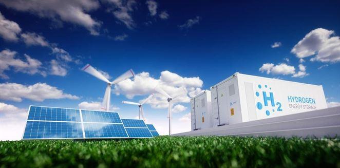 Solárne a veterné farmy budú kľúčom pri výrobe zeleného vodíka