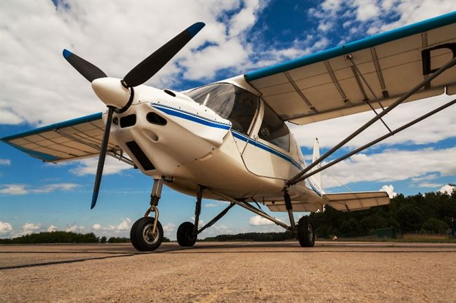 ultraľahké lietadlo