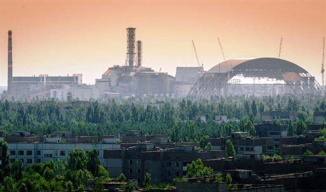solárna elektráreň, Černobyľ