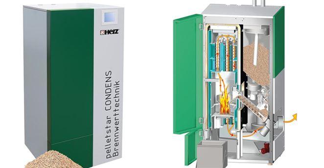 Herz predstavil prvý kondenzačný kotol na pelety