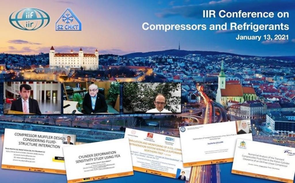 Konferencia IIR o kompresoroch a chladiacich prostriedkoch otvorila viacero tém