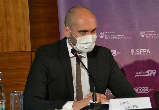 Galek: Plán obnovy EÚ sa bude týkať aj plynárenstva, príležitosťou je vodík či bioplyn