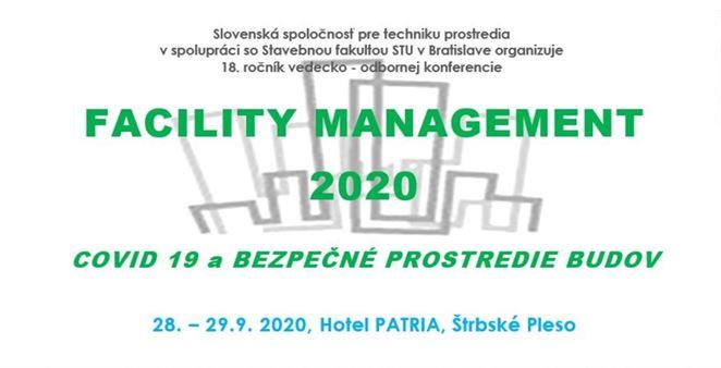 Pozvánka na konferenciu: FACILITY MANAGEMENT 2020