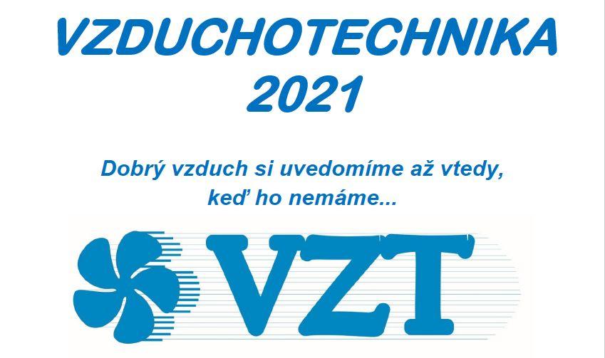Pozvánka na konferenciu: VZDUCHOTECHNIKA 2021