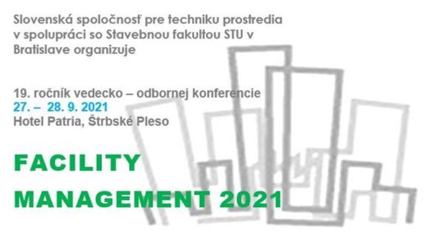 Pozvánka na konferenciu: FACILITY MANAGEMENT 2021