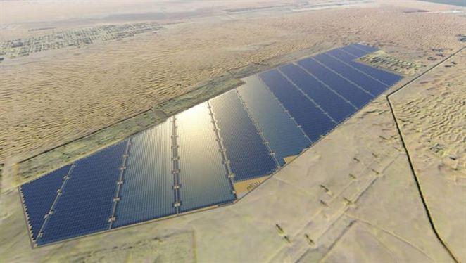 Najväčší solárny park na svete spustili v Abu Dhabi
