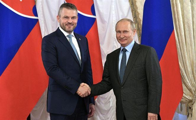 Pellegrini, Putin