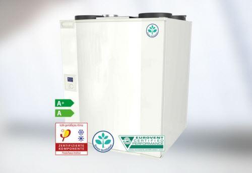 Menšie rekuperačné jednotky Systemair-u ako prvé vo svete s certifikátom Eurovent