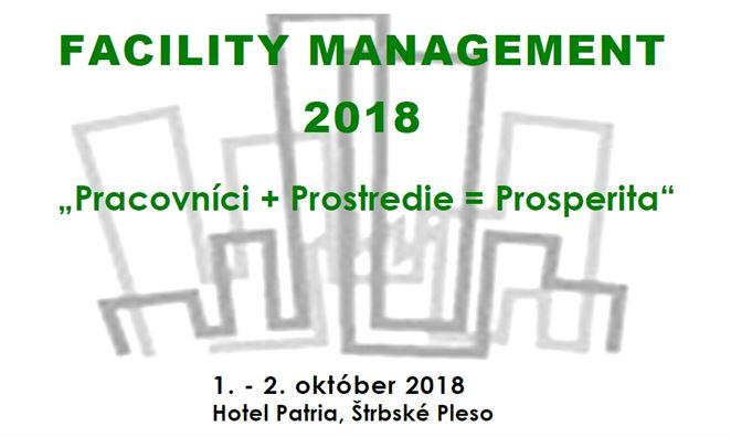 Pozvánka na konferenciu: FACILITY MANAGEMENT 2018