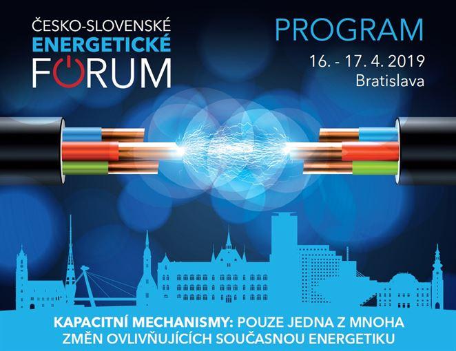 V Bratislave bude konferencia Česko-slovenské energetické fórum