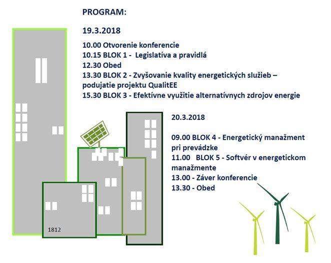 Pozvánka na konferenciu: Energetický manažment 2018