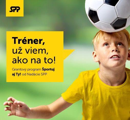 Nadácia SPP vyhlasuje nový grant na podporu športu detí a mládeže