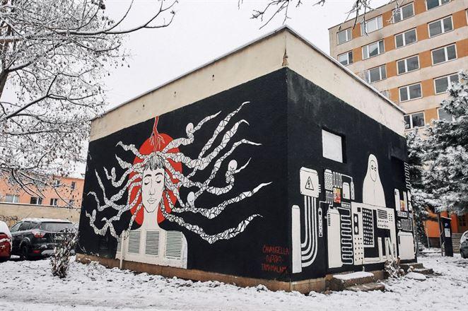 V Košiciach pribudla ďalšia umelecká trafostanica