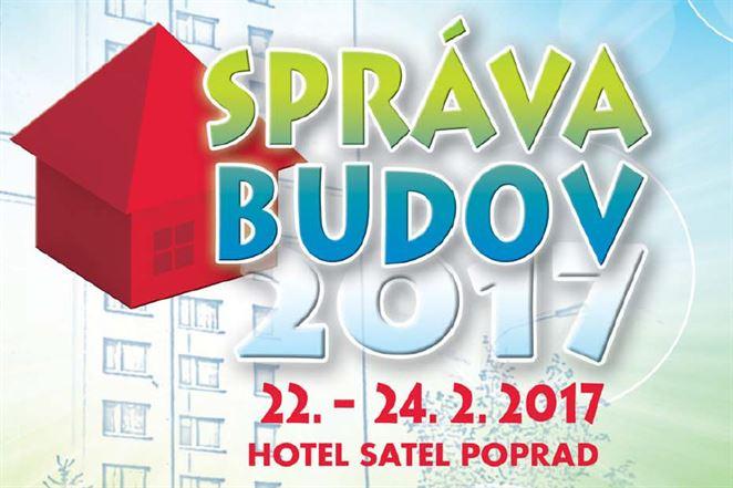 Pozvánka na konferenciu: SPRÁVA BUDOV 2017