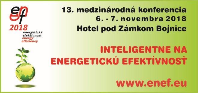 Pozvánka na konferenciu: ENEF 2018