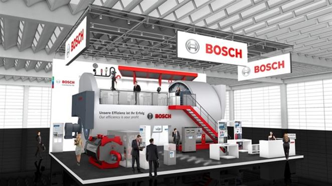 Bosch predstavil obrovský parný kotol pre dodávateľov energie a veľké priemyselné podniky