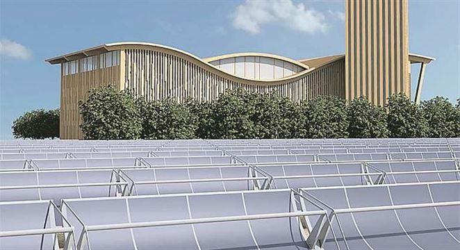 Solárne kolektory sú súčasťou systému CZT v Španielsku