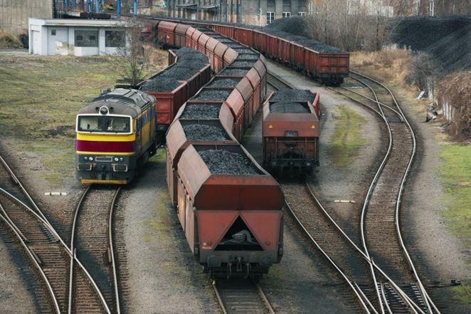 ťažba uhlia