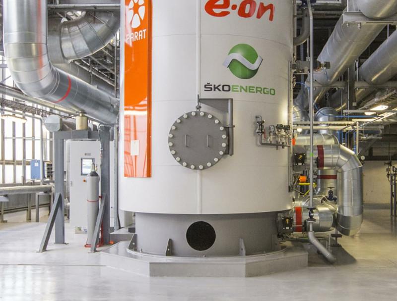 Tepláreň automobilky používa elektrický kotol k ukladaniu elektriny do tepla