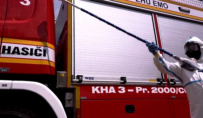 Mochovce, hasiči