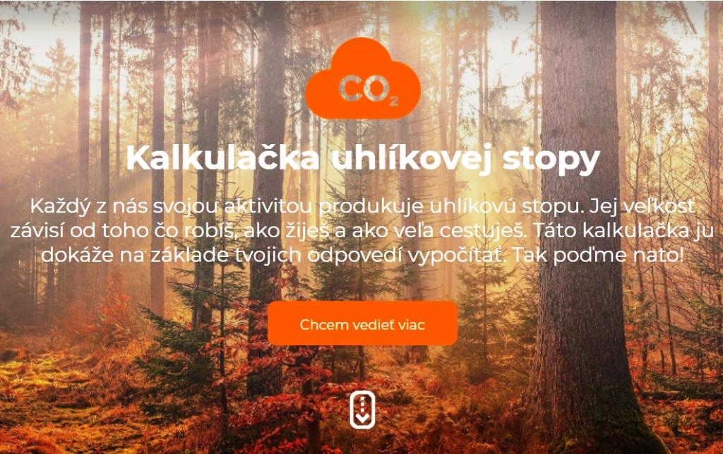 Koľko emisií vyprodukujete? Vypočíta to nová slovenská kalkulačka uhlíkovej stopy