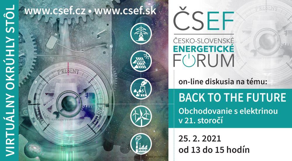 ČSEF: Obchodovanie s elektrinou v 21. storočí