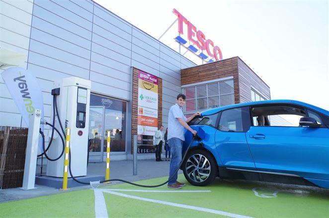 Greenway otvára päť nových rýchlonabíjacích staníc pre elektromobily na Slovensku