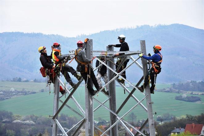 elektrické vedenie, Horná Nitra, SSD