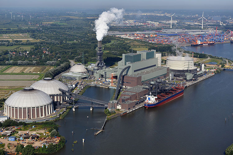 Uhoľná elektráreň sa zmení na najväčšiu vodíkovú továreň v Európe