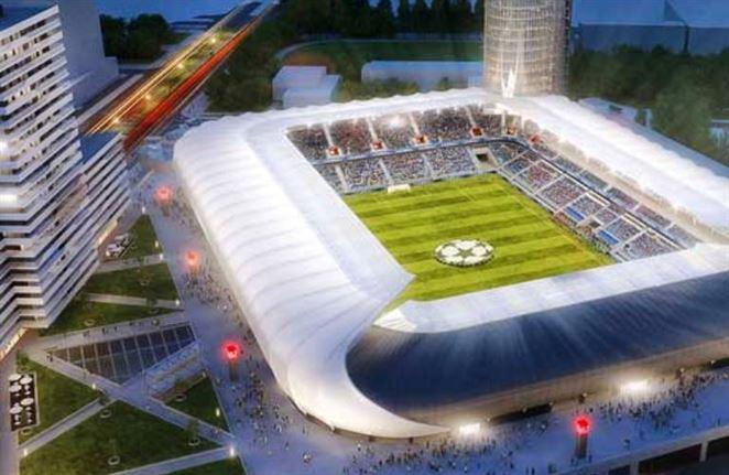 Národný futbalový štadión majú teplom zásobovať hlavne tepelné čerpadlá