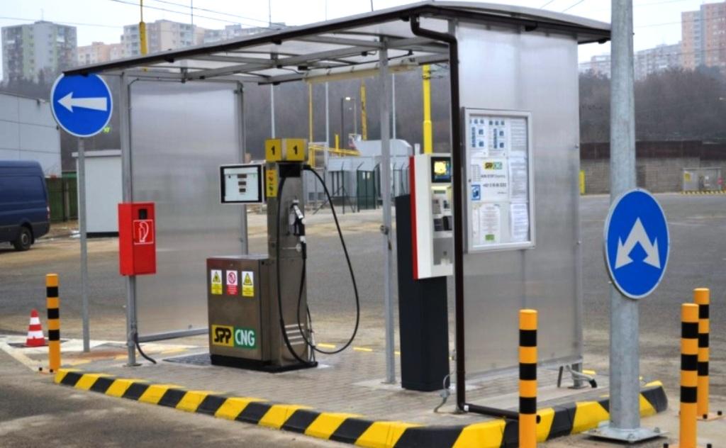 Na Slovensku v roku 2021 pribudnú ďalšie plniace stanice na stlačený zemný plyn (CNG)