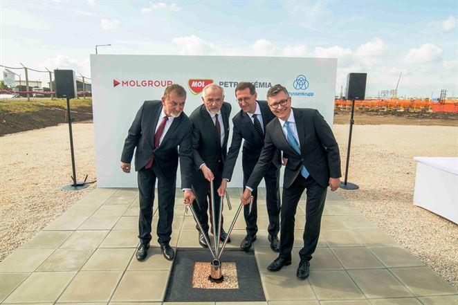 Skupina MOL investuje 1,2 miliardy eur do výroby polyéterických polyolov