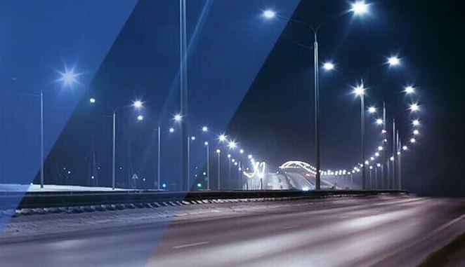 Moderné verejné osvetlenie