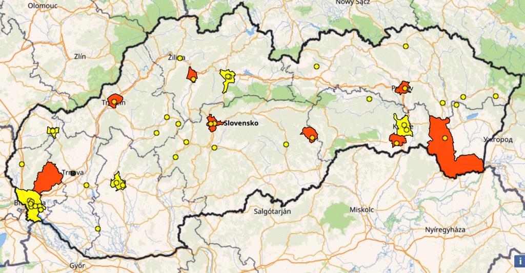 Viaceré regióny hlásia smogové situácie, SHMÚ radí obmedziť pohyb vonku