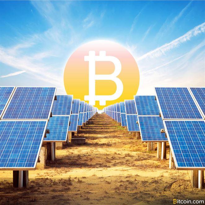 Ako investovať do solárnych článkov cez bitcoin