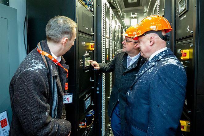 Spustili najväčšiu batériu v Česku. Stojí pri uhoľnej elektrárni